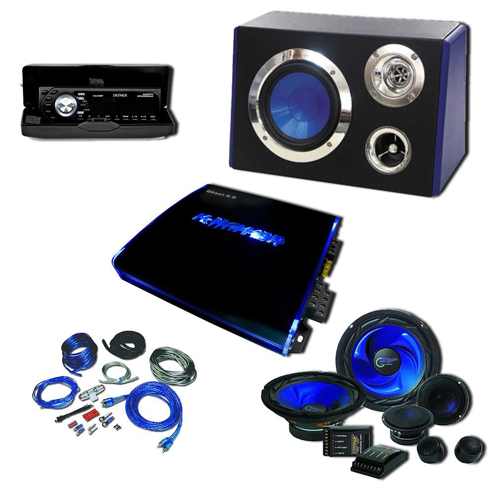 2700w auto musikanlage verst rker subwoofer boxen autoradio mp3 usb sd aux comet ebay