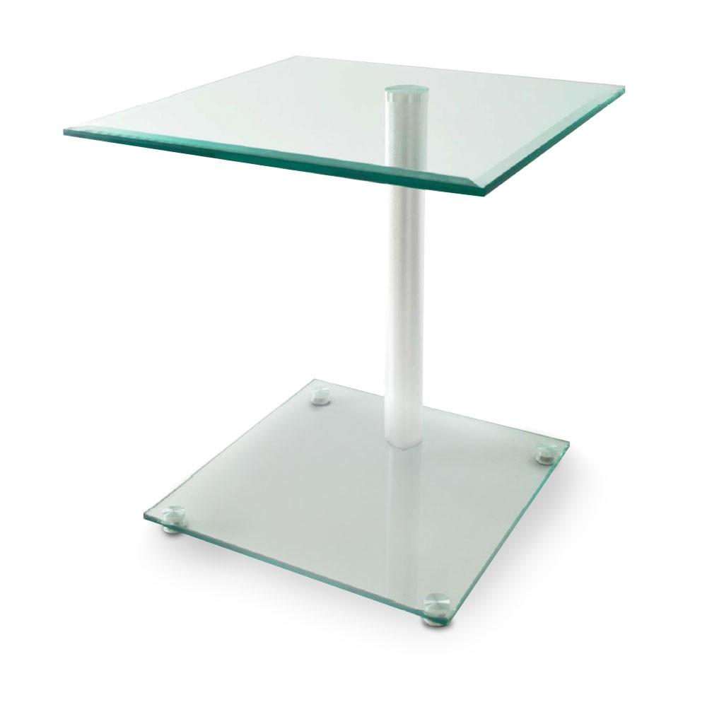moderner beistelltisch couchtisch ablage glas tisch. Black Bedroom Furniture Sets. Home Design Ideas