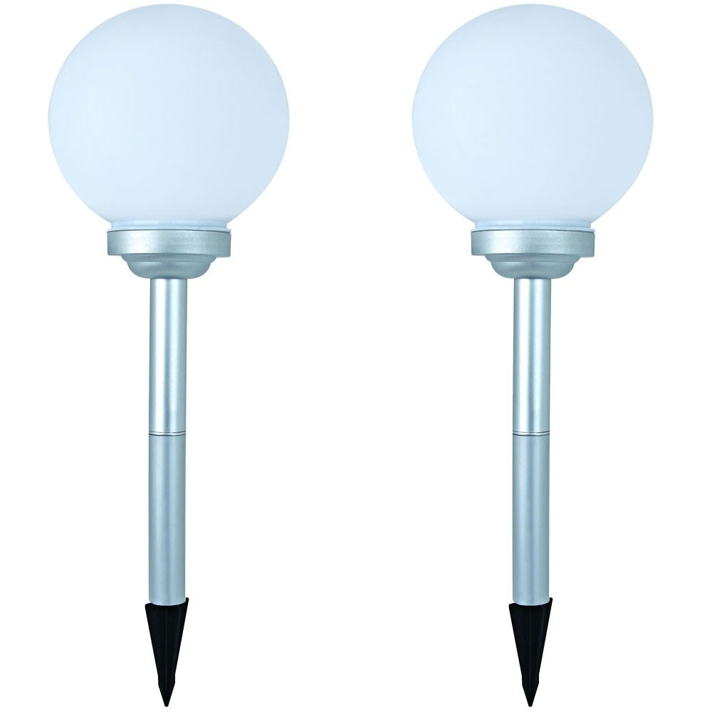 gartenlampen sets auswahl gartenleuchte solarlampe kugel verschiedene gr en neu ebay. Black Bedroom Furniture Sets. Home Design Ideas