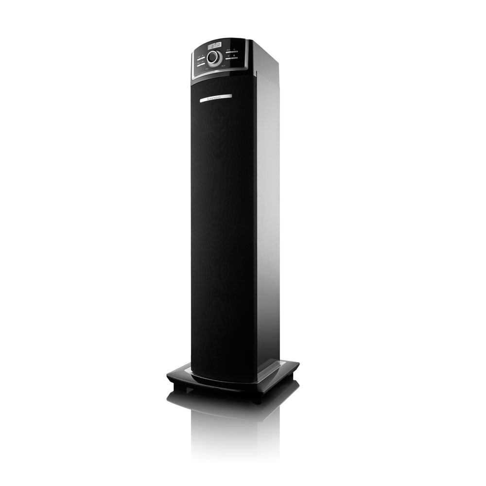 musikturm 2 1 soundtower bluetooth anlage stereoanlage musikanlage lautsprecher ebay. Black Bedroom Furniture Sets. Home Design Ideas