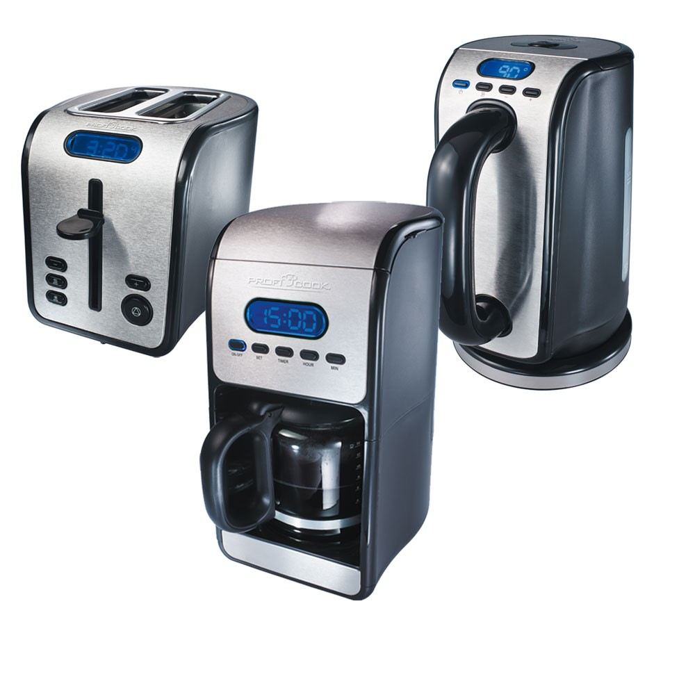 fr hst ck set kaffeemaschine kaffee toaster toast. Black Bedroom Furniture Sets. Home Design Ideas