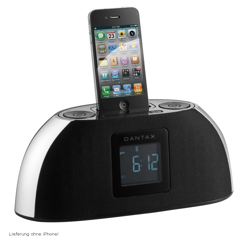 docking station music centre for ipod iphone charger alarm. Black Bedroom Furniture Sets. Home Design Ideas