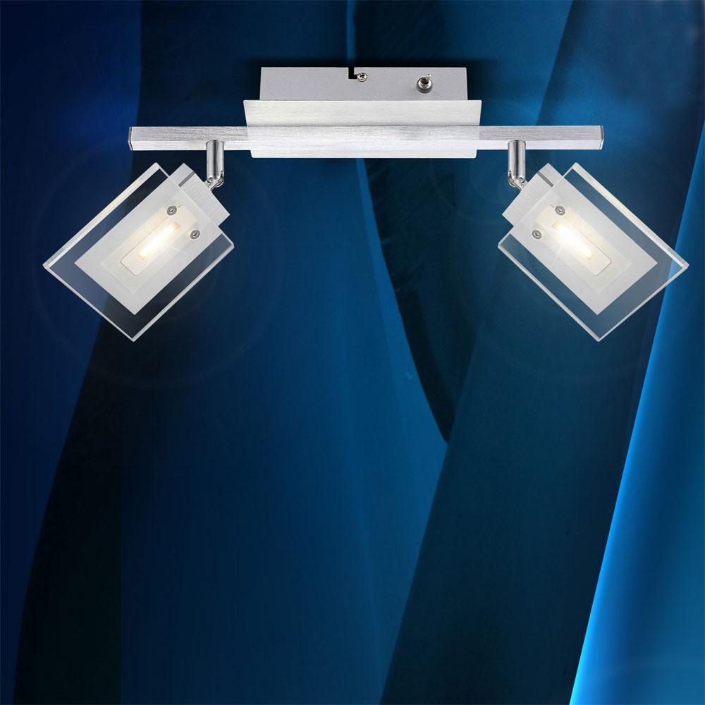 led deckenstrahler wandstrahler strahler beleuchtung wohnzimmer lampe leuchte ebay. Black Bedroom Furniture Sets. Home Design Ideas