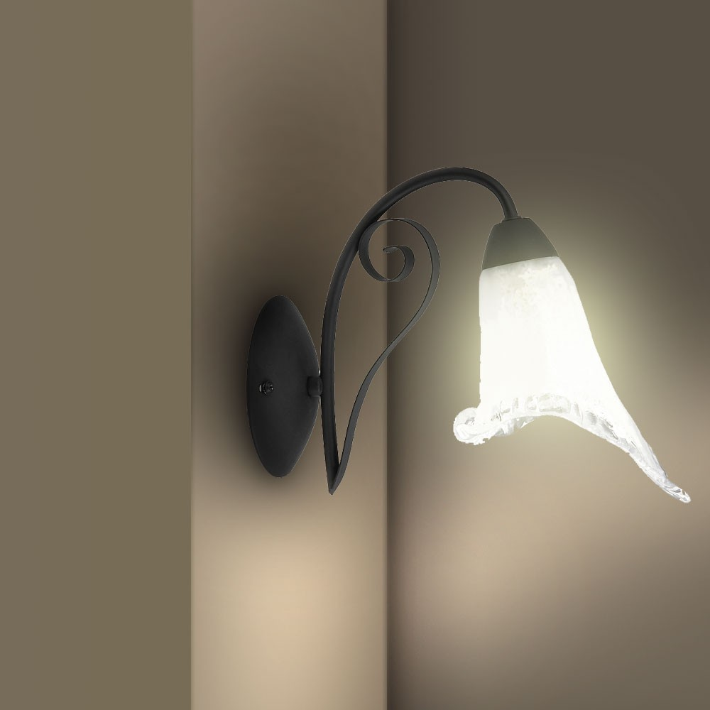 Wall Lights For Country Cottage : Wall lamp wall sconce reading light country-cottage-style lamp Rabalux Karina eBay