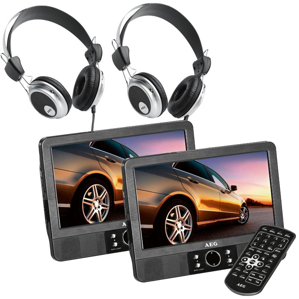 dvd player tragbar usb anschluss 12v adapter mpeg4 lcd. Black Bedroom Furniture Sets. Home Design Ideas