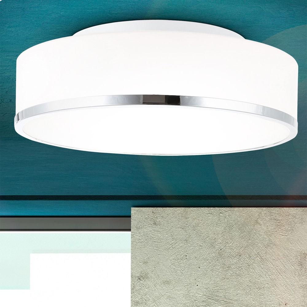 Salle de bain haut mur couverture lampe ampoule bardages for Lampe plafond salle de bain
