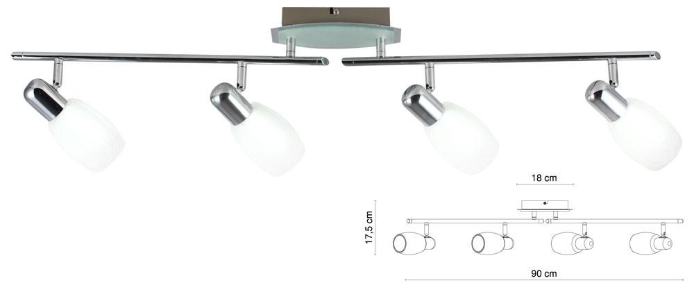 LED Deckenleuchte Wandleuchte Strahler Beleuchtung Lampe Licht Esszimmer neu