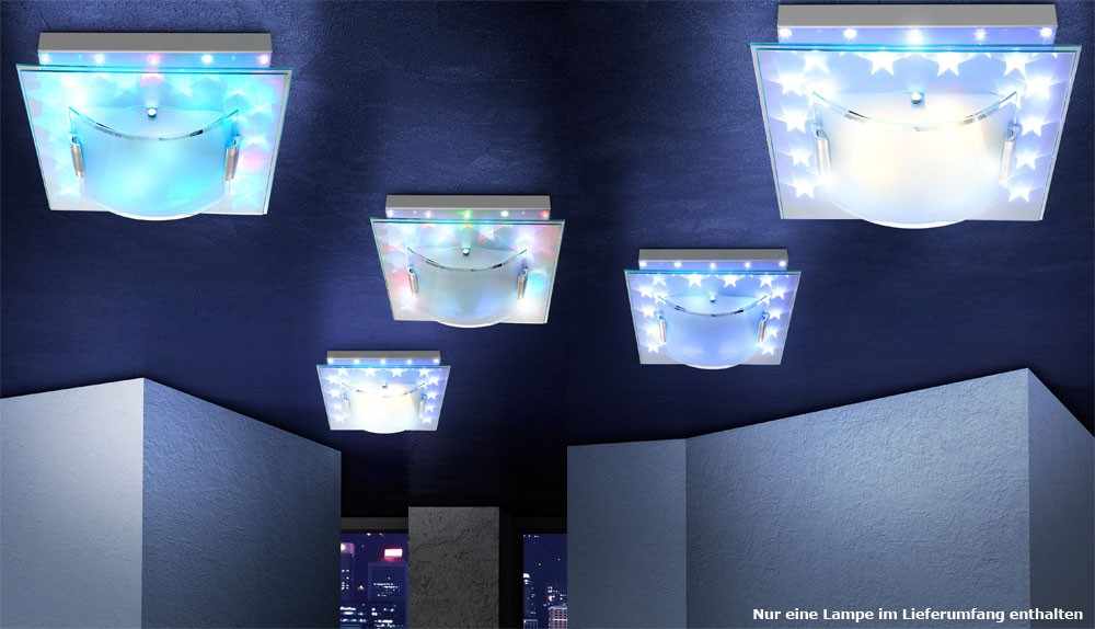 farbwechsler effektbeleuchtung deckenleuchte led. Black Bedroom Furniture Sets. Home Design Ideas