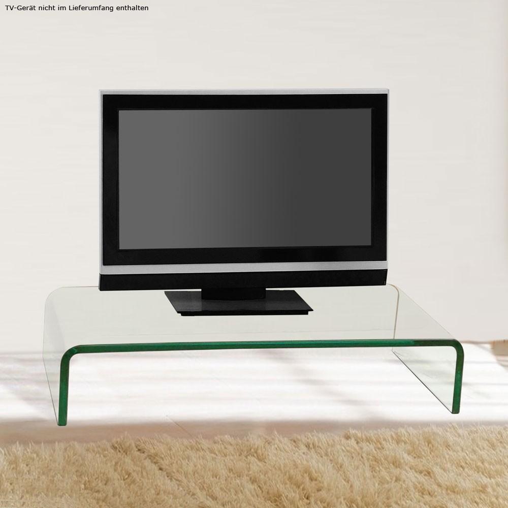 modern fernseh tisch monitor aufsatz tv ablage gebogen glastisch wohnzimmer edel. Black Bedroom Furniture Sets. Home Design Ideas