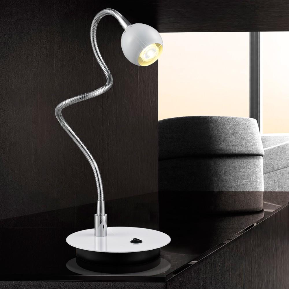 4 2w led a tischleuchte schreibtischlampe tischlampe. Black Bedroom Furniture Sets. Home Design Ideas