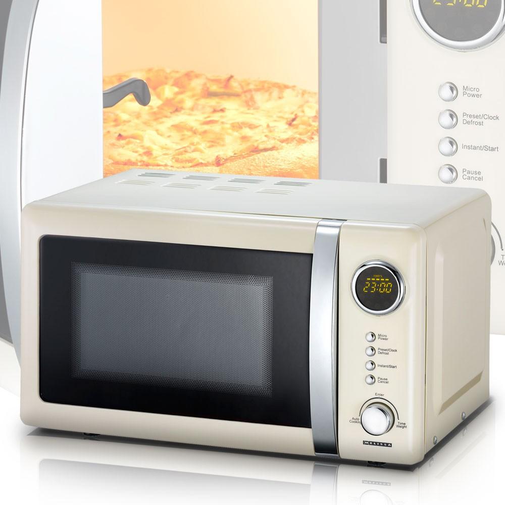 700 w mikrowelle 20 liter garraum timer drehteller melissa. Black Bedroom Furniture Sets. Home Design Ideas
