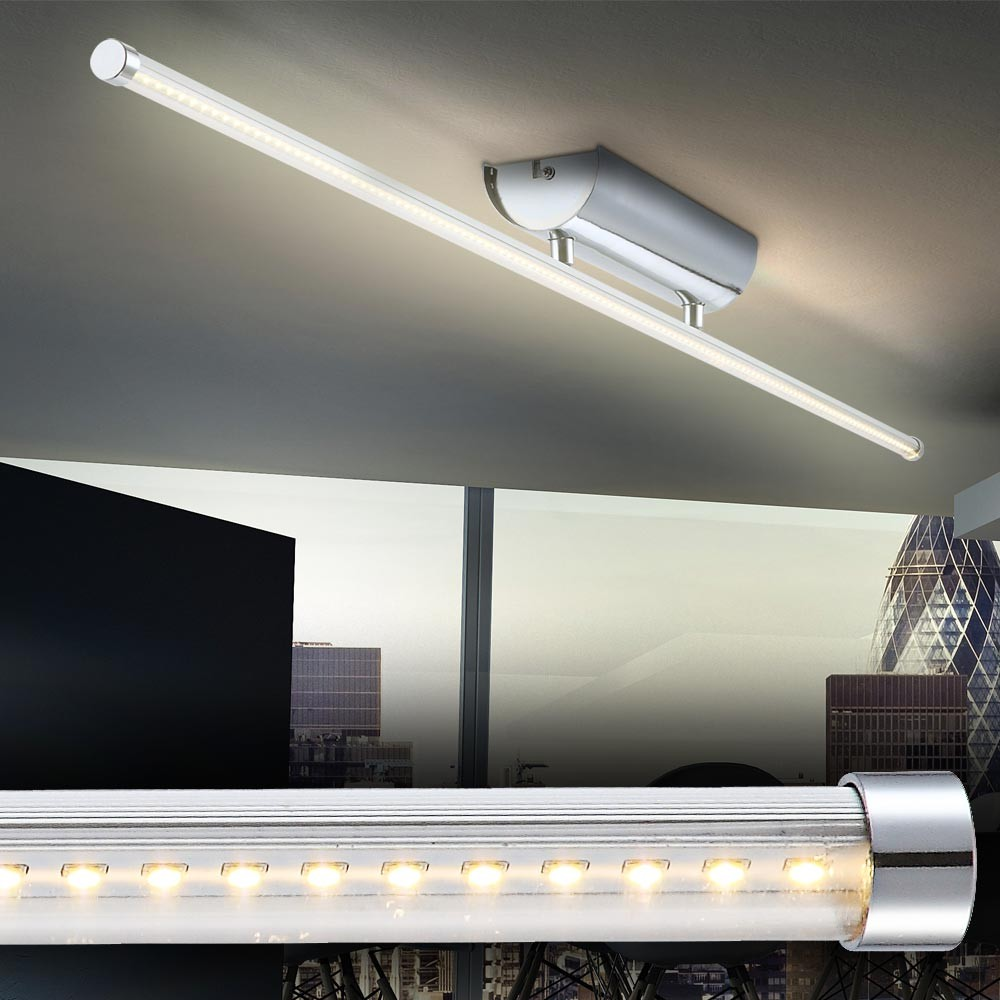 Led ceiling lamp bath office fluorescent tube energiespar for Moderne led deckenlampen
