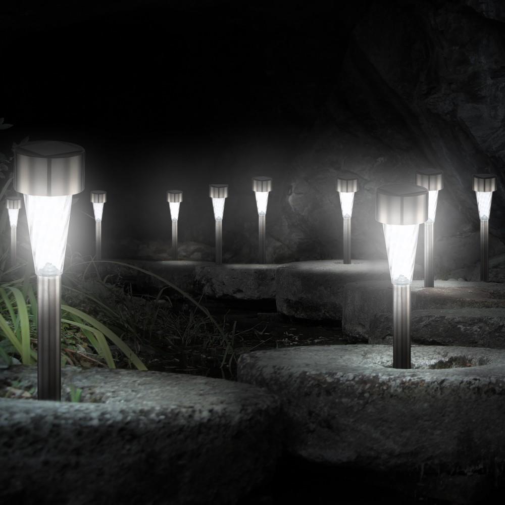 solarlampen garten collection on ebay. Black Bedroom Furniture Sets. Home Design Ideas