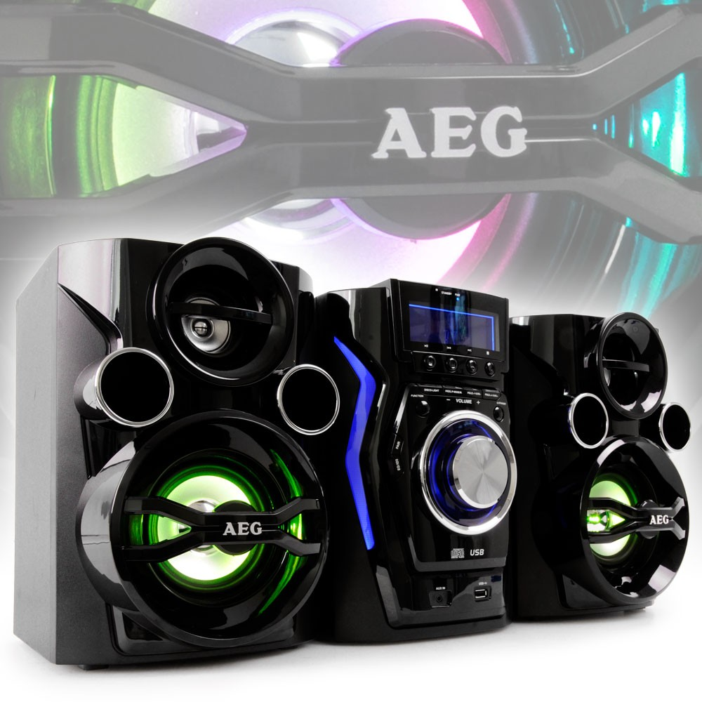 stereo soundbox boombox center cd mp3 bluetooth modern radio aeg mc4462 bt ebay