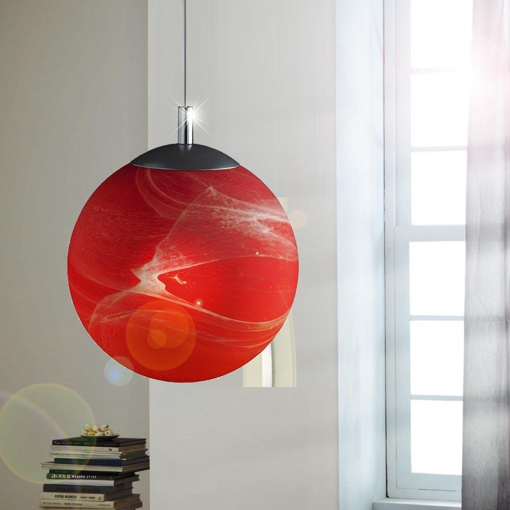 Wohnzimmer Decken Pendel Haenge Leuchten Lampen Kugel Alabaster