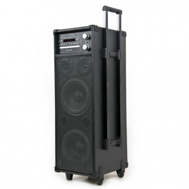 PA DJ System Soundsystem Radio Lautsprecher DVD USB Wireless Port-USB – Bild 2