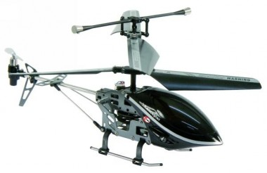 RC-Helicopter IPhone Edition 3,5 Kanal Gyro Metall-Rumpf McTrack I-Fly schwarz – Bild 1