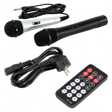 Mobile Beschallungsanlage Funkmikrofon DJ PA USB MP3 Hollywood Port-25/ Port10VHF-N – Bild 8