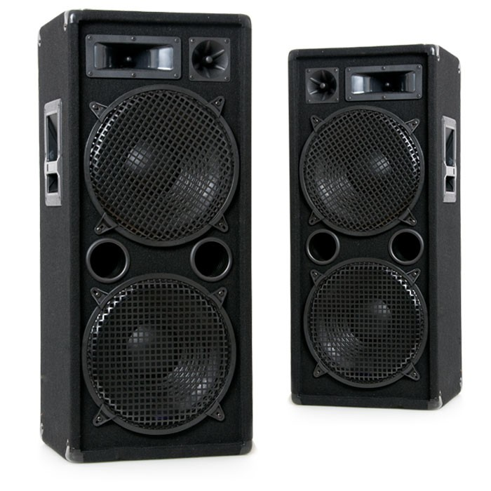 2000w paar pa boxen 2 x 30 cm bass lautsprecher dj pro 212. Black Bedroom Furniture Sets. Home Design Ideas