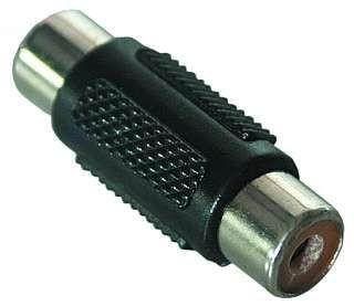 cinchadapter kupplung zu kupplung audio technik audio hifi kabel adapter stecker adapter. Black Bedroom Furniture Sets. Home Design Ideas