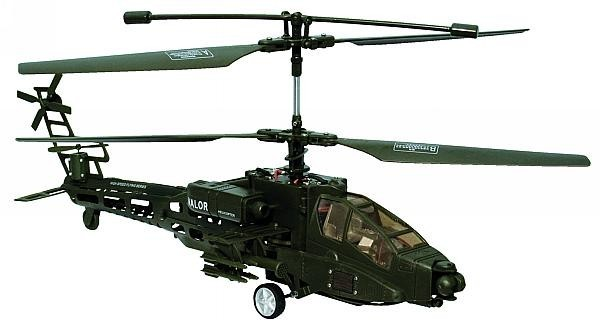 RC-Helicopter Apachy 37cm lang ca 32cm Rotor-D