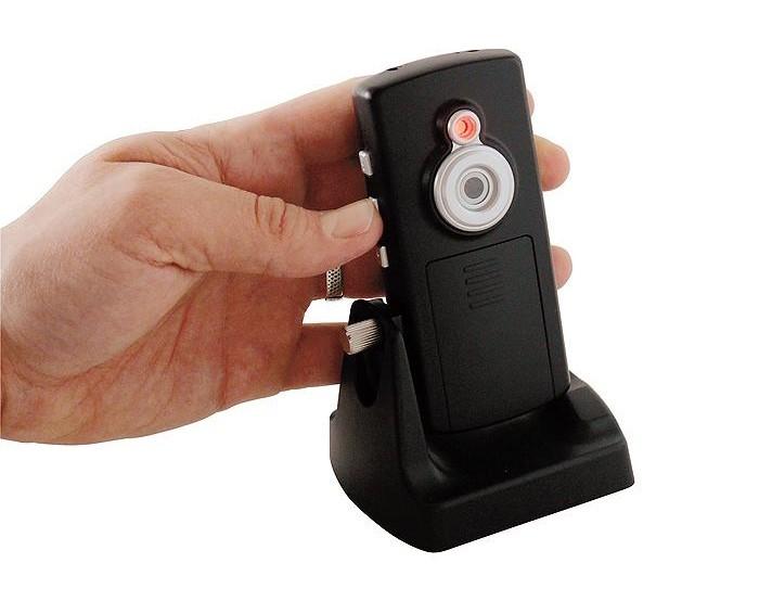 Überwachungskamera Kamera Sicherheit Aufnahmefunktion auf SD-Karte schwarz BxHxT 49x25x105mm