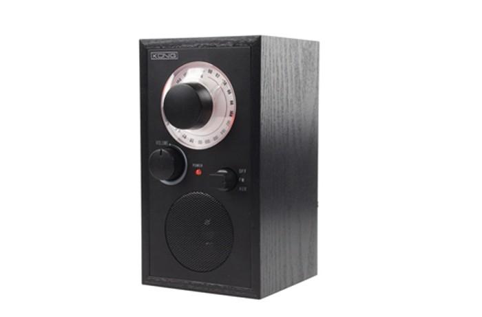 Retro Radio UKW-Radio AUX-IN MP3-Funktion Kopfhöreranschluss König HAV-TR110