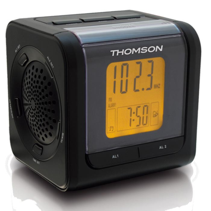 designer projector alarm clock radio ebay. Black Bedroom Furniture Sets. Home Design Ideas