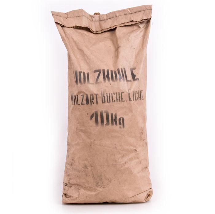 10 kg Sack Holzkohle Grillholzkohle Grillkohle Buchen Eichen Kohle BBQ Garten Grill Zubehör