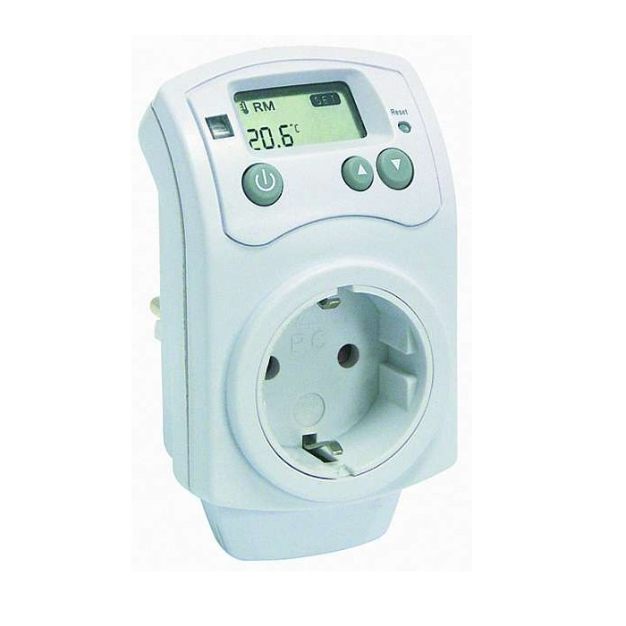 steckdosen raum zimmer thermostat thermometer thermo