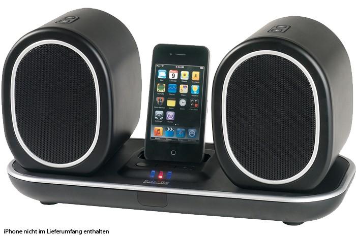 kabelloses iphone dock musik center led anzeige lautsprecher system aeg mc 4447 audio technik. Black Bedroom Furniture Sets. Home Design Ideas