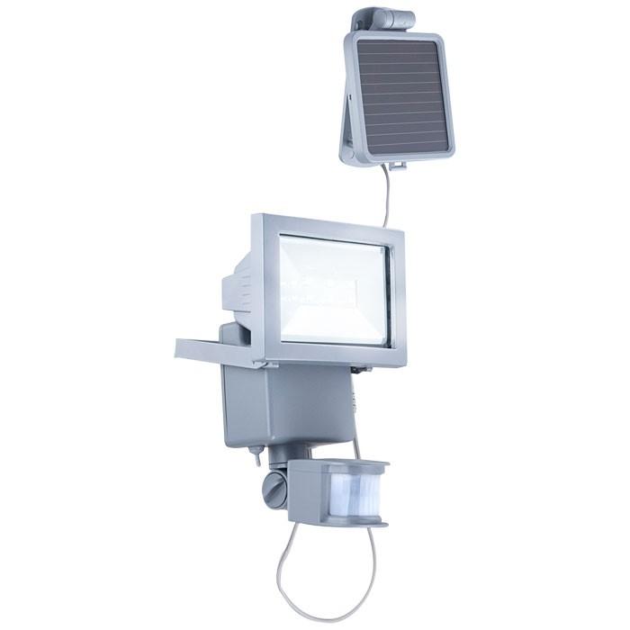 Außen Wand Solar Bewegungsmelder Strahler Lampe LED Licht Beleuchtung Globo 3716S