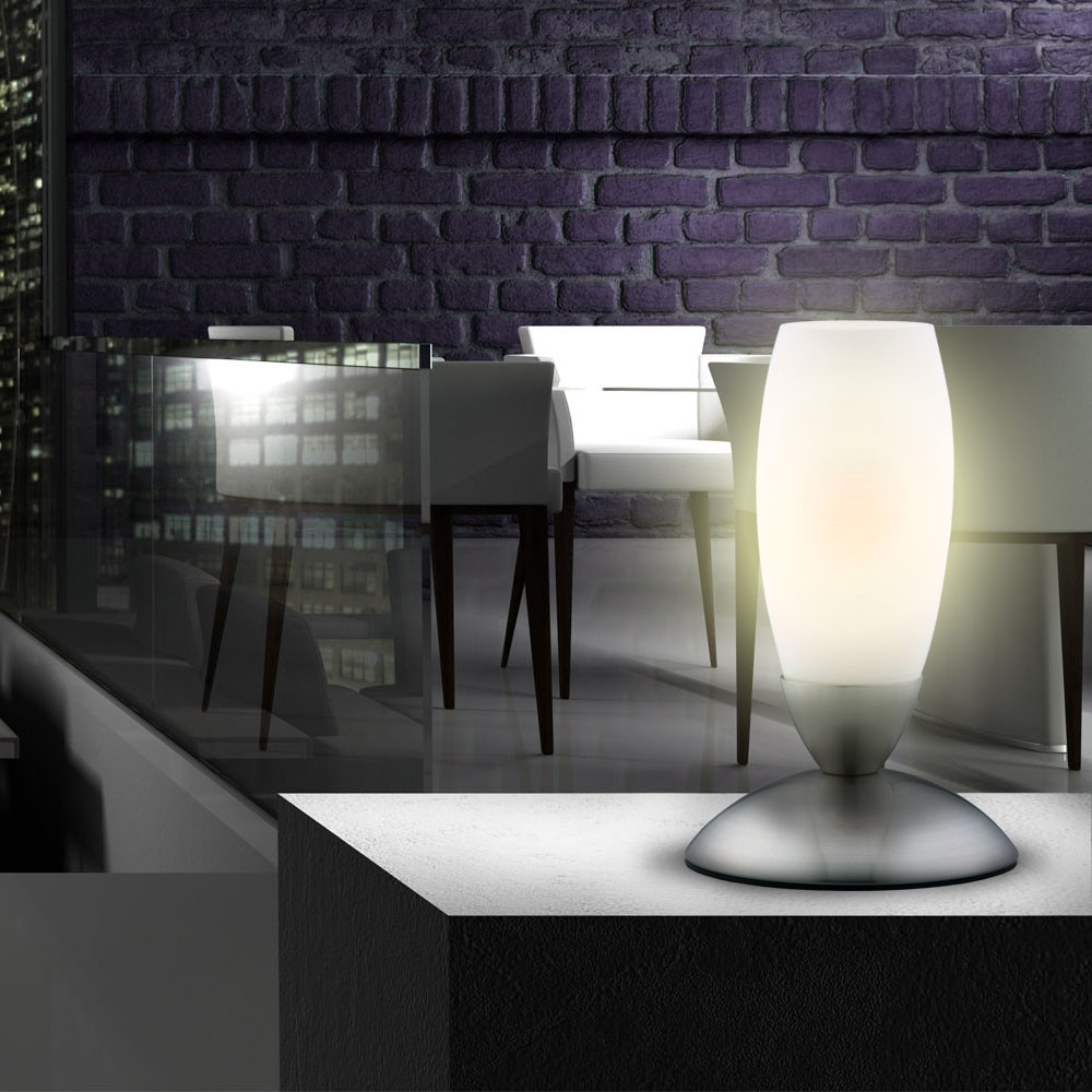 illuminazione soggiorno lampada per camera da letto lampada da tavolo luce nuova ebay. Black Bedroom Furniture Sets. Home Design Ideas