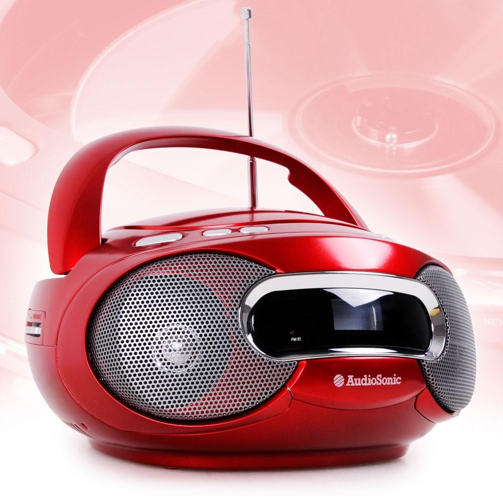 cd radio player spieler toploader ukw empf nger stereo. Black Bedroom Furniture Sets. Home Design Ideas