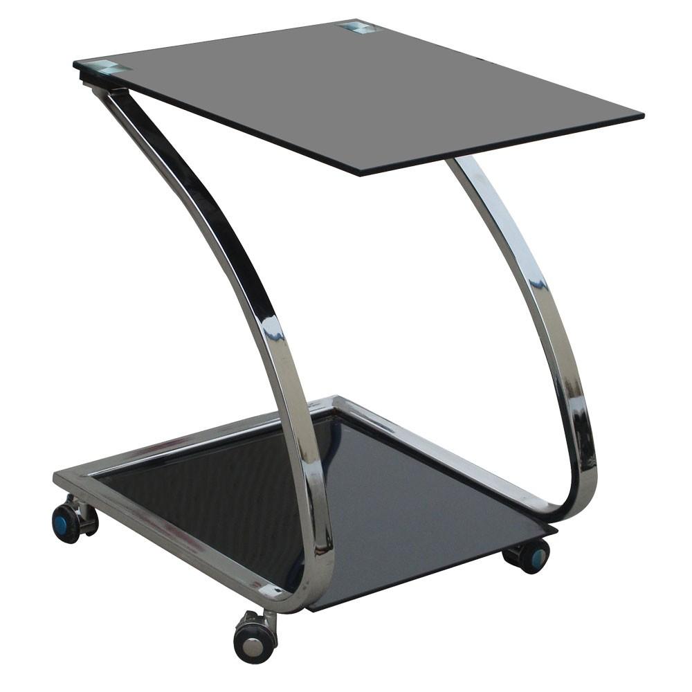 Sonstige  Design Couchtisch Glastisch Nachttisch Metall