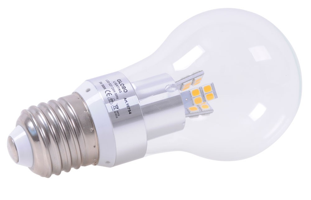Lampade led e27 3 watt lampada risparmio energetico for Lampade a led watt