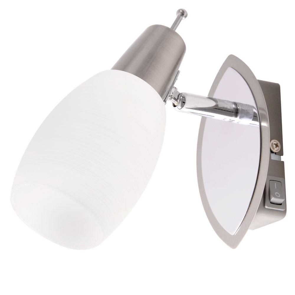 wandlampe felix mit wei em lampenschirm und schalter lampen m bel innenleuchten wandleuchten. Black Bedroom Furniture Sets. Home Design Ideas