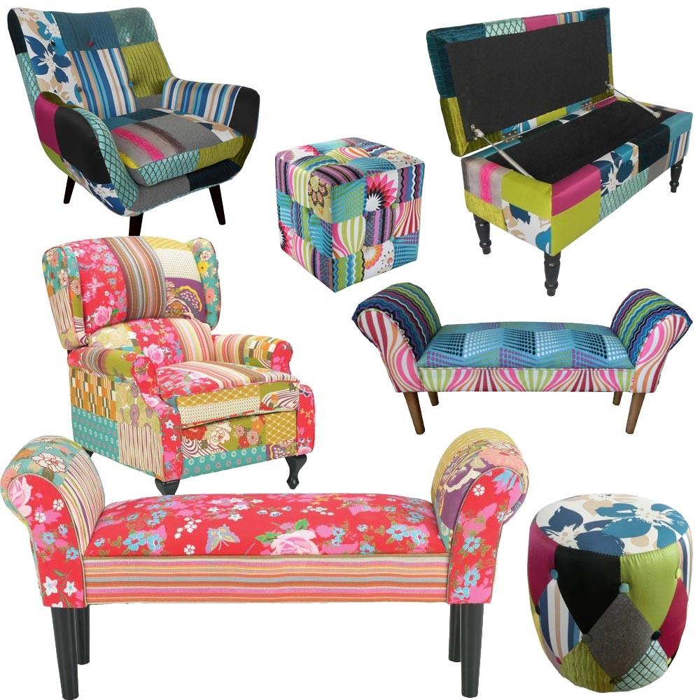 patchwork sessel sonstige preisvergleiche erfahrungsberichte und kauf bei nextag. Black Bedroom Furniture Sets. Home Design Ideas