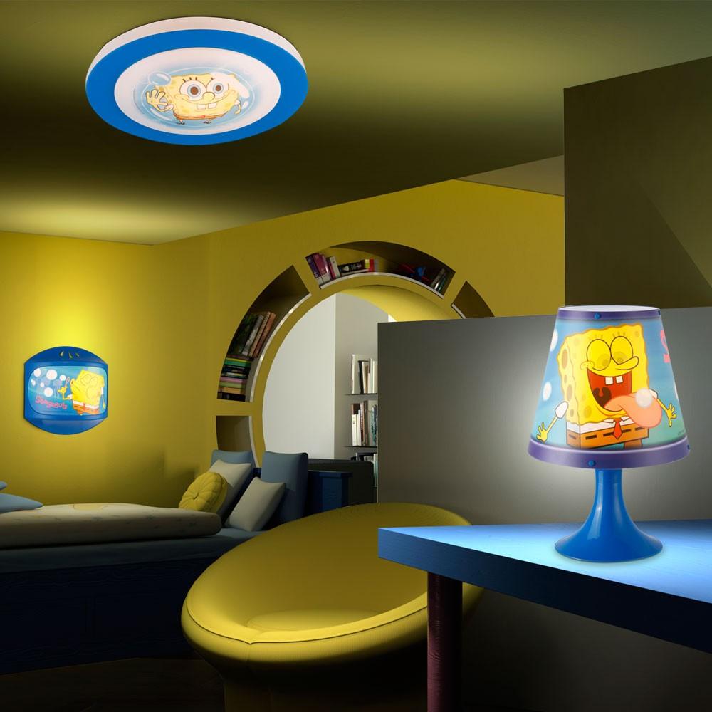 SpongeBob SquarePants Wall Lamp Night Light Table Lamp