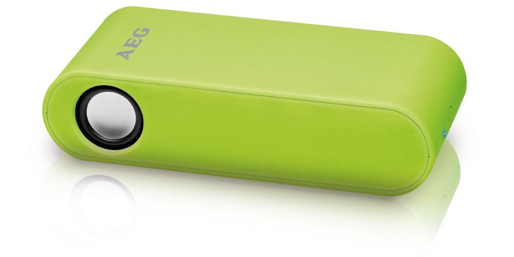 Aeg stereo sistema casse altoparlanti wireless verde - Stereo casse wireless ...