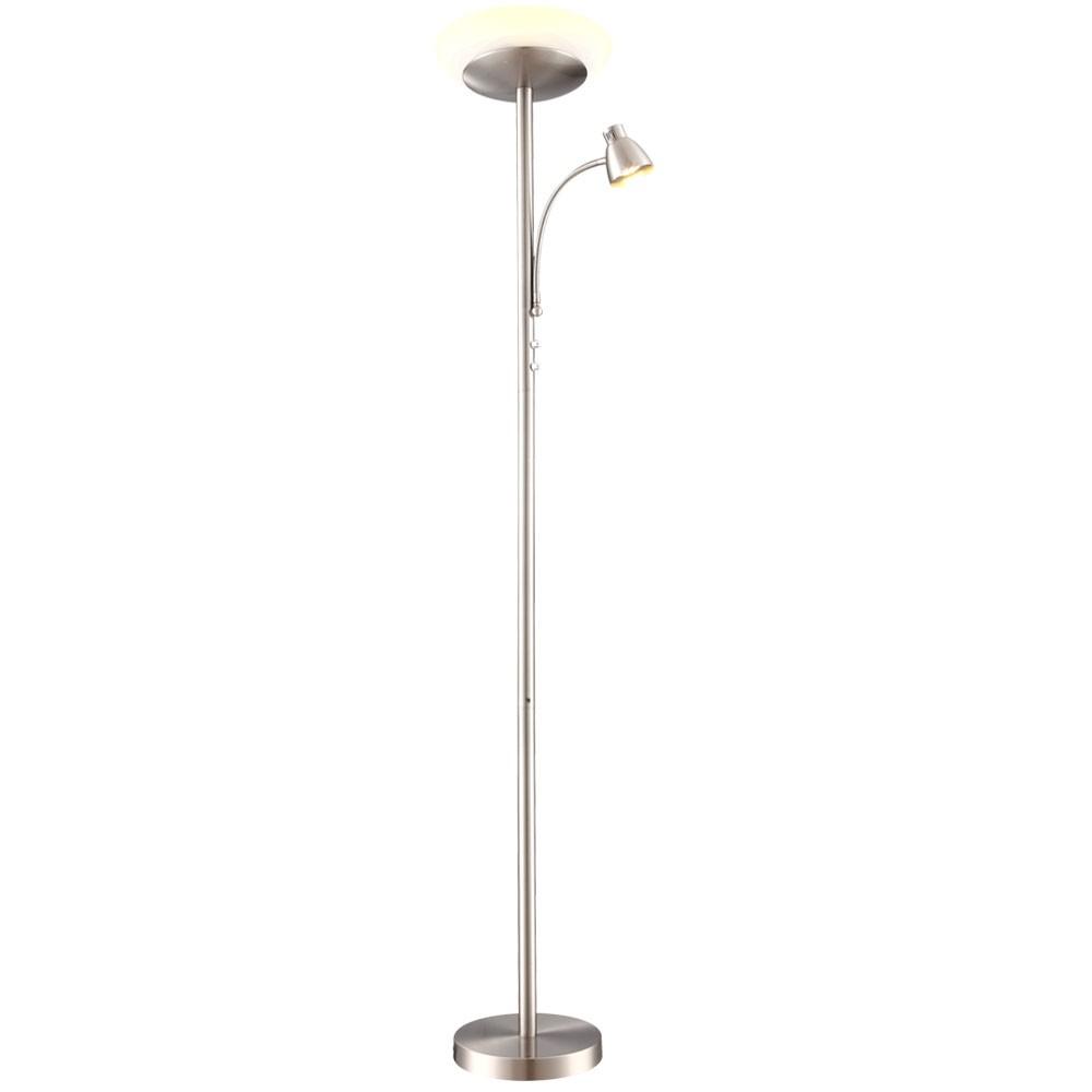 wohnzimmer stehlampe led:LED Deckenfluter Standleuchte Wohnzimmer Leselampe Stehleuchte