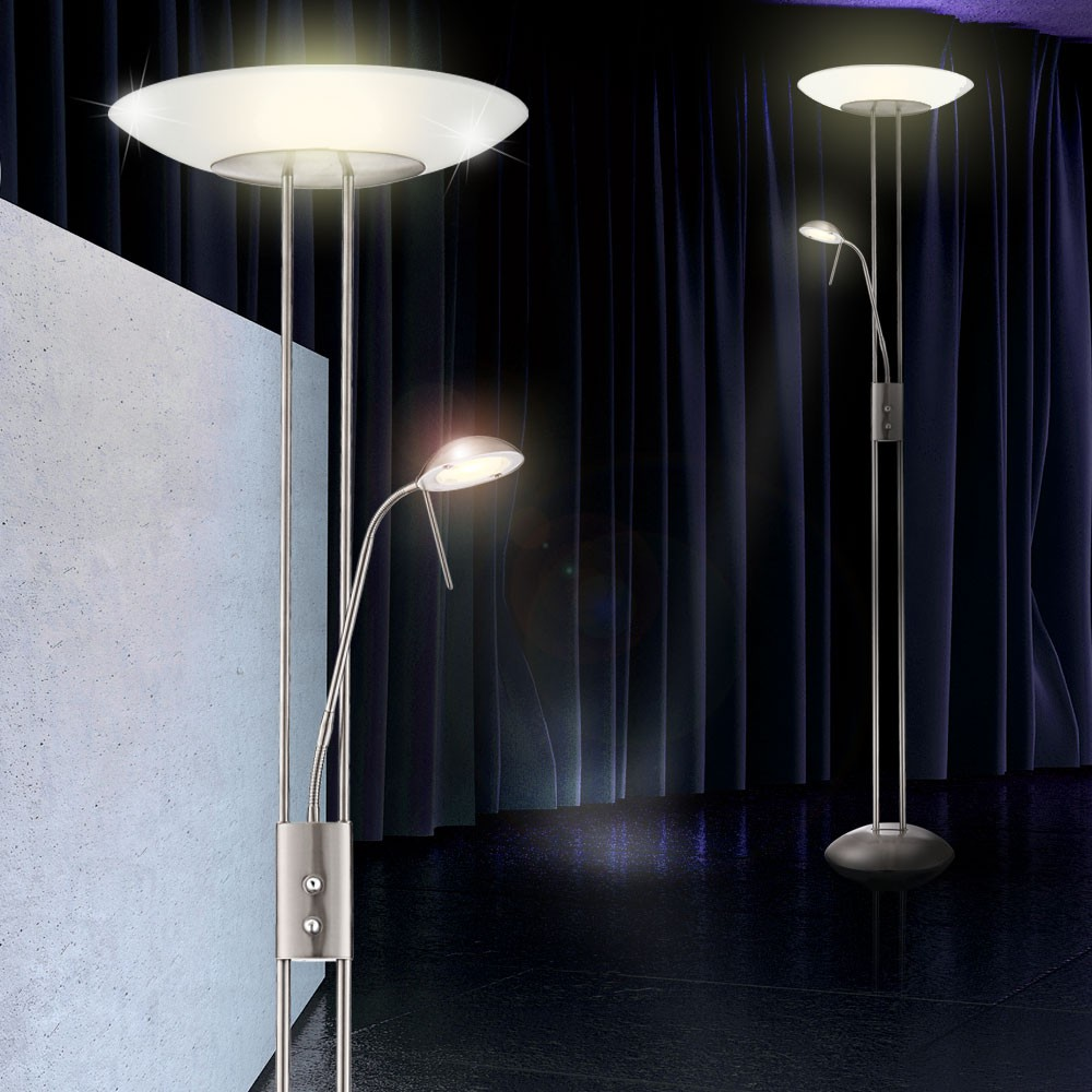 Floor led lamp standing lamp lighting living room lamp for Living lighting floor lamps