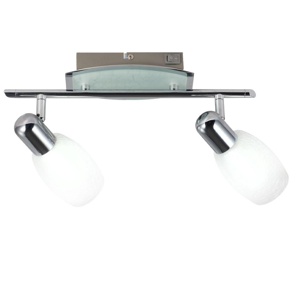 10 watt led wand decken doppel strahler spot leuchte lampe globo exortis 56194 2 lampen m bel. Black Bedroom Furniture Sets. Home Design Ideas