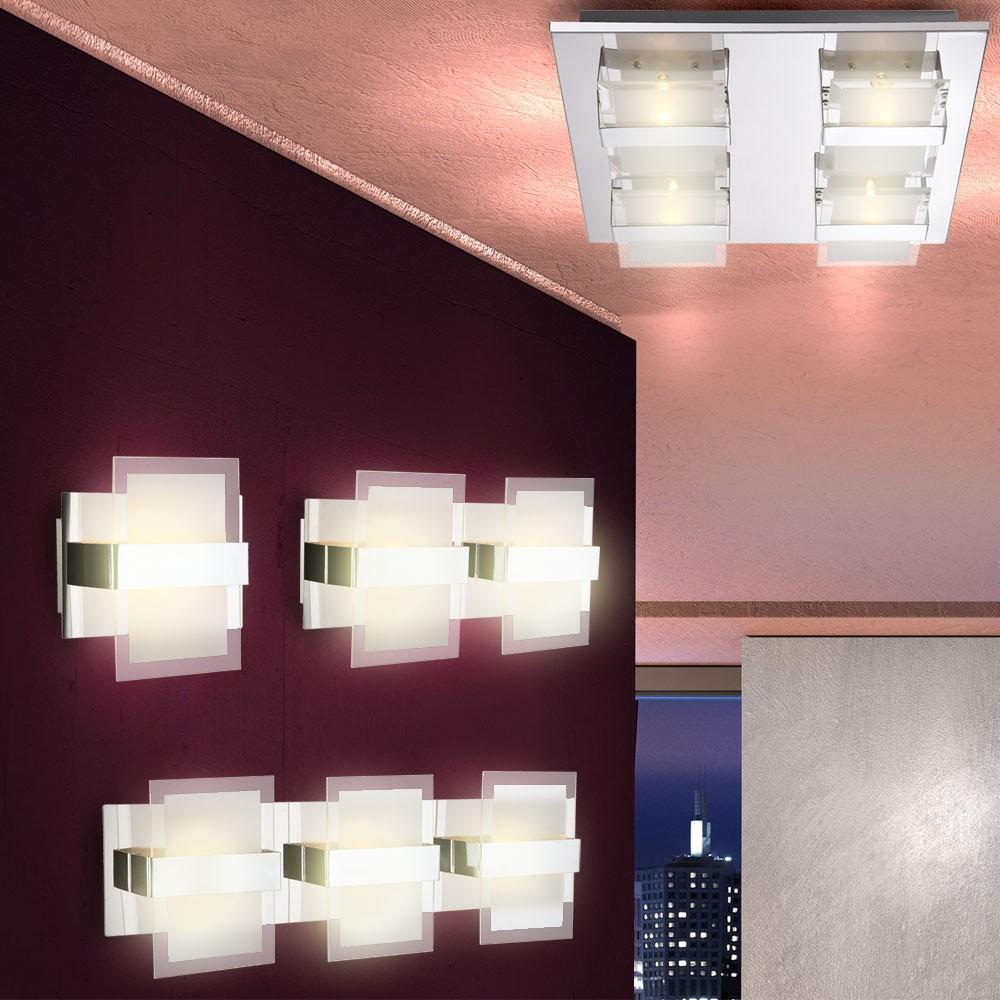 plafoniera luce da parete illuminazione soggiorno sala pranzo luminosa lampada ebay. Black Bedroom Furniture Sets. Home Design Ideas