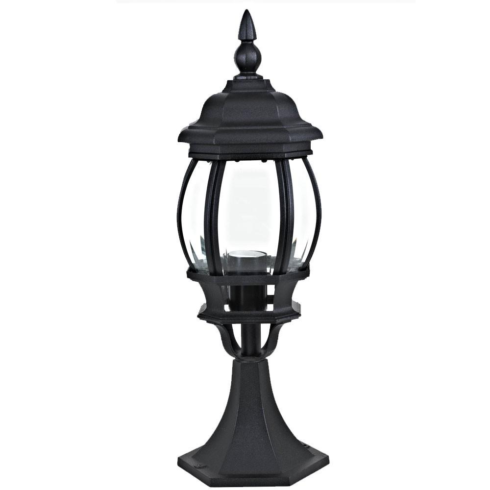 LED Außenleuchte Außenlampe Gartenleuchte Antik Stehleuchte Beleuchtung Leuchte Laterne