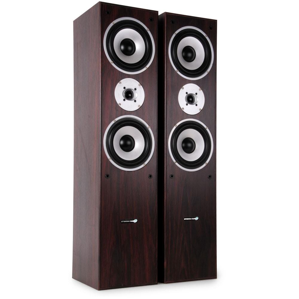 hifi heimkino standboxen lautsprecher 500w paar 3 wege bass boxen l766 wa audio technik audio. Black Bedroom Furniture Sets. Home Design Ideas