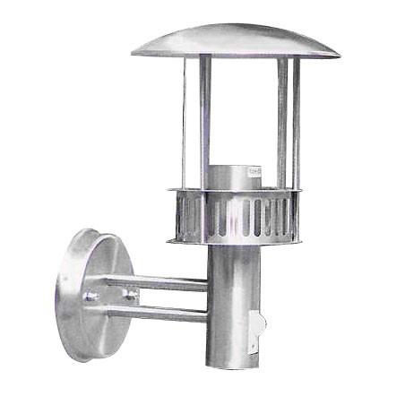 LED Wandleuchte Castle-Design Laterne mit Bewegungsmelder IP44 5 Watt Außenlampe