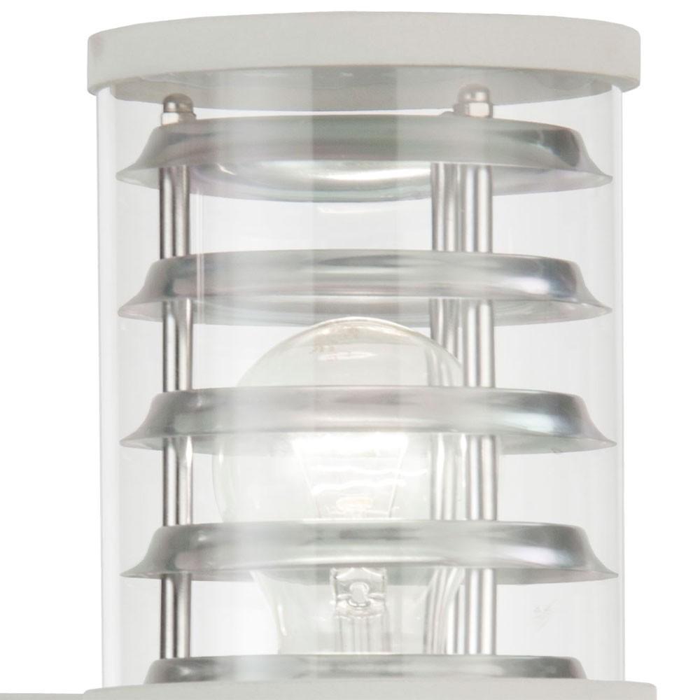 moderne led wandleuchte aus aluminium f r den au enbereich. Black Bedroom Furniture Sets. Home Design Ideas