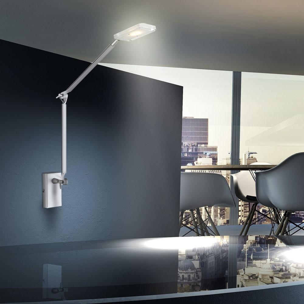 design led 5 watt wand leuchte lese b ro lampe licht. Black Bedroom Furniture Sets. Home Design Ideas