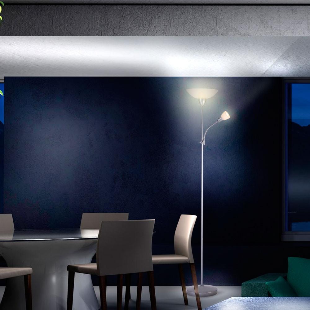 deckenfluter wohnzimmer. Black Bedroom Furniture Sets. Home Design Ideas